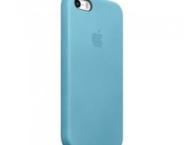 Оригинальный чехол Apple Case для iPhone 5/5S Blue