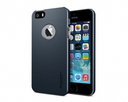 Чехол SGP Case Ultra Thin Air A Metal Slate - iPhone 5/5s/SE
