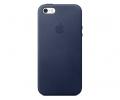 Чехол Apple iPhone 5/5s/SE Leather Case - Midnight...