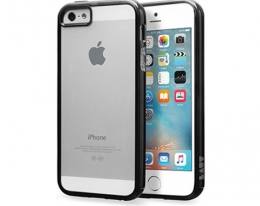 Чехол Laut Re Cover Black для iPhone SE/5s/5 (LAUT_IP5SE_RC_BK)
