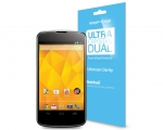 Защитная пленка SGP Nexus 4 Steiheil Dual Screen Protector