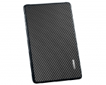 Декоративная пленка SGP Skin Guard Carbon Black - iPad mini