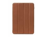Элитный кожаный чехол Decoded Slim Cover Brown - iPad mini