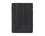 Элитный кожаный чехол Decoded Slim Cover Black - iPad mini