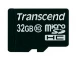 Карта памяти Transcend Premium 32 GB Class 10 + MicroSD Adap...