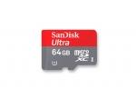 Карта памяти Sandisk Ultra MicroSDHC 64 GB Class 10