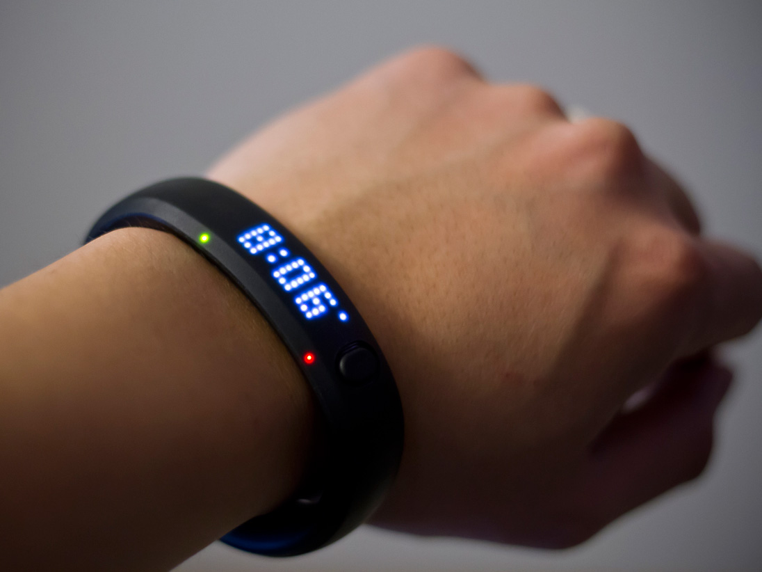 Pink nike fuel band