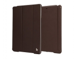 Jisoncase Smart Cover for iPad Air Brown