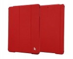 Jisoncase Smart Cover for iPad Air Red
