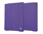 Jisoncase Smart Cover for iPad Air Purple