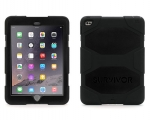 Чехол Griffin Survivor All-Terrain Black/Black - iPad Air 2
