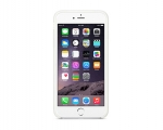 Оригинальный чехол Apple iPhone 6 Plus Silicone Case - White