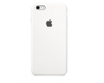 Чехол Apple iPhone 6/6s Plus Silicone Case - White (MKXK2)