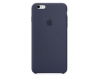 Чехол Apple iPhone 6/6s Plus Silicone Case - Midnight Blue (...