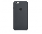 Чехол Apple iPhone 6/6s Plus Silicone Case - Charcoal Gray (...