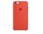 Чехол Apple iPhone 6/6s Plus Silicone Case - Orange (MKXQ2)