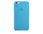 Чехол Apple iPhone 6/6s Plus Silicone Case - Blue (MKXP2)