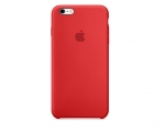 Чехол Apple iPhone 6/6s Plus Silicone Case - Red (MKXM2)