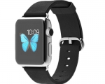 Apple Watch 38mm Stainless Steel case Black Classic Buckle (...