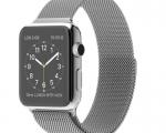 Apple Watch 42mm Stainless Steel case Milanese Loop (MJ3Y2)