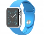 Apple Watch Sport 38mm Aluminum case Blue Sport band (MJ2V2)