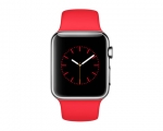 Apple Watch 38mm Stainless Steel Case with (PRODUCT)RED Spor...