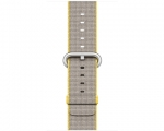 Ремешок Apple Woven Nylon Band Yellow/Light Grey для Apple W...