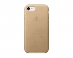 Apple iPhone 7 Leather Case - Tan (MMY72)