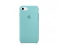 Apple iPhone 7 Silicone Case - Sea Blue (MMX02)