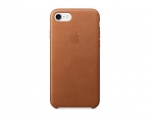 Apple iPhone 7 Leather Case - Saddle Brown (MMY22)
