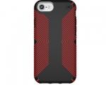 Чехол Speck Presidio Grip Black/Dark Poppy Red для iPhone 8/...