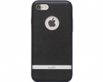 Чехол Moshi Napa Vegan Leather Charcoal Black для iPhone 8/7...