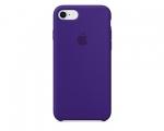Чехол Apple Silicone Case Ultra Violet для iPhone 8/7 (MQGR2...