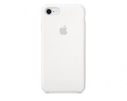 Чехол Apple Silicone Case LUX copy White для iPhone 8/7