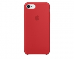 Чехол Apple Silicone Case LUX copy Red для iPhone 8/7