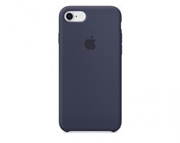 Чехол Apple Silicone Case LUX copy Midnight Blue для iPhone 8/7