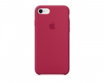 Чехол Apple Silicone Case LUX copy Rose Red для iPhone 8/7