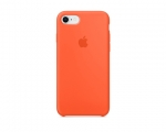 Чехол Apple Silicone Case LUX copy Spicy Orange для iPhone 8...