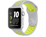 Apple Watch Nike+ 38mm Series 2 Silver Aluminum Case with Fl...