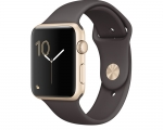 Apple Watch Sport 42mm Series 2 Gold Aluminum Case with Coco...