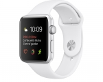 Apple Watch Sport 38mm Series 2 Silver Aluminum Case with Wh...