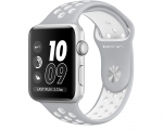 Apple Watch Nike+ 42mm Series 2 Silver Aluminum Case with Fl...
