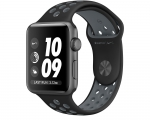 Apple Watch Nike+ 38mm Series 2 Space Gray Aluminum Case wit...