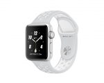 Apple Watch Nike+ 38mm Series 2 Silver Case with Pure Platin...