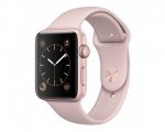 Apple Watch Series 2 42mm Rose Gold Aluminium Case With Pink...
