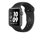 Apple Watch Nike+ 38mm Series 2 Space Gray Case with Anthrac...