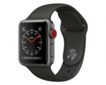 Apple Watch 38mm Series 3 GPS + Cellular Space Gray Aluminum...
