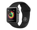 Apple Watch Series 3 GPS 38mm Space Gray Aluminum ...