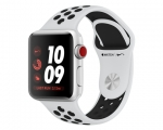 Apple Watch Nike+ 38mm Series 3 GPS + Cellular Silver Alumin...