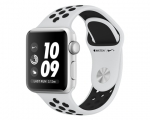 Apple Watch Nike+ 38mm Series 3 GPS Silver Aluminum Case wit...